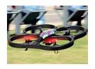 WLToys V666 FPV四轴飞行器W / 5.8GHz的显示器,720P高清摄像和ALT保持(RTF)