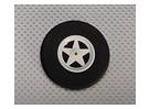 5辐轮毂减震D65xH18mm(5片/袋)