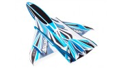 H-King Arctic Cat Water Plane - Glue-N-Go - Foamboard PP 820mm Blue (Kit) - top