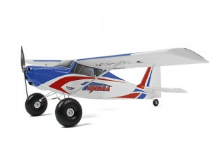 Durafly Color Tundra 1300mm Anniversary Edition (Blue/Red) (PnF) - Side