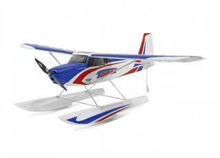Durafly Color Tundra 1300mm Anniversary Edition (Blue/Red) (PnF) - Floats