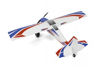 Durafly Color Tundra 1300mm Anniversary Edition (Blue/Red) (PnF) - Top