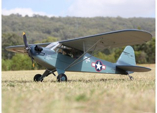 H-King J3 Navy Cub (NE-1) 1400mm (PnP) - LHS ground