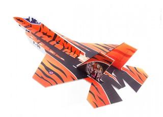 H-King F-35 - Glue-N-Go - Foamboard PP 650mm (Kit) - top view