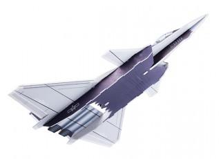 H-King J-20 - Glue-N-Go - 5mm Foamboard PP 650mm (Kit) - bottom view