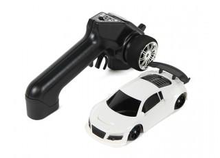 Mini-Q Sport 1:28 RC AWD Touring Car (RTR) (White) - package