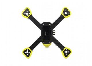 GEP-BX5 FlyShark Racing Drone Frame 215mm - bottom view
