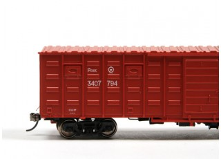 P64K Box Car (Ho Scale - 4 Pack) Detail 3