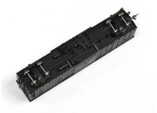P64K Box Car (Ho Scale - 4 Pack) (Black Set 3) rolling stock