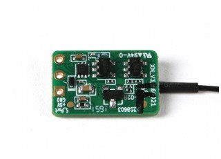 FrSky XM Micro Ultra-Light 16 Channel Receiver- bottom view