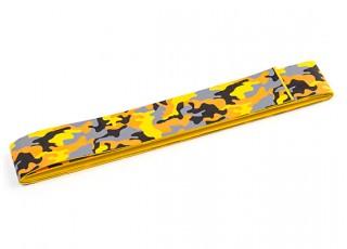 TrackStar Handle Wrap Tape 1100 x 25mm Orange Camouflage Pattern