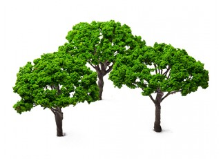 HobbyKing™ 140mm Scenic Wire Model Trees (3 pcs)
