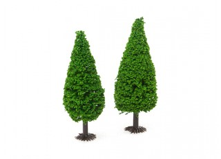 HobbyKing™ 90mm Scenic Model Trees with Base (2 pcs)