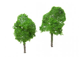 HobbyKing™ 115mm Scenic Wire Model Trees (2 pcs)