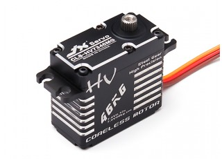 JX CLS-HV7346MG High Voltage Coreless Metal Gear Servo 46.9kg/0.12sec/73g