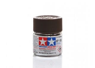 Tamiya XF-10 Flat Brown Mini Acrylic Paint (10ml)