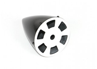 3 Inch Carbon Fiber Spinner with Aluminium Backplate - bottom