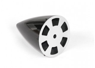 4 Inch Carbon Fiber Spinner with Aluminium Backplate - bottom