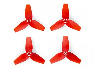 Cheerson CX-95S - 3-Blade 40mm Propellers (2xCW, 2xCCW) (Red)