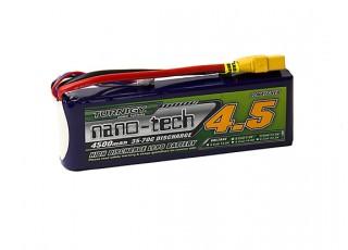 Turnigy nano-tech 4500mah 3S 35~70C Lipo Pack w/XT-90