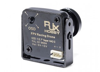 RJX Owl Plus Mini FPV Camera - rear view