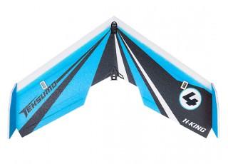 "H-King Teksumo EPP Wing 900mm (35"") (Cerulean Blue) (Kit) - Top"