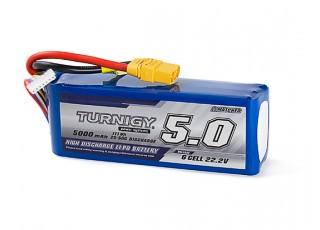 Turnigy 5000mAh 6S 25C Lipo Pack w/XT90