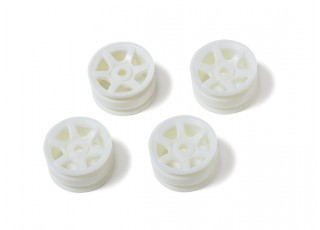 Orlandoo OH32A02 4WD 1/35 Pajero Crawler - White 6 Spoke Rims (4pcs)