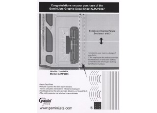Aipport Mat Graphic 1:400 Scale Graphic Decal Sheet GJAPS007 2