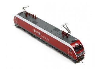 HXD1D Electric Locomotive Red HO Scale (DCC Equipped) No.2 5