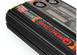 Turnigy Reaktor QuadKore 1200W 80A (4 X 300W 20A) Balance Charger now with NiZN and LiHV - Top