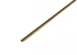 K&S Precision Metals Brass Round Stock Tube 2mm OD x 0.45mm x 1000mm (Qty 1)