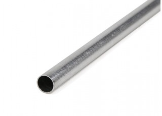K&S Precision Metals Aluminum Stock Tube 8mm OD x 0.45mm x 1000mm (Qty 1)
