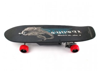 Street Style Electric Skateboard Side view