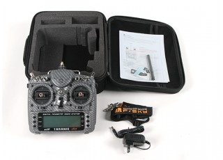 FrSky 2.4GHz ACCST TARANIS X9D PLUS Special Edition (M1) (International) (Carbon Fiber) (US Plug) content