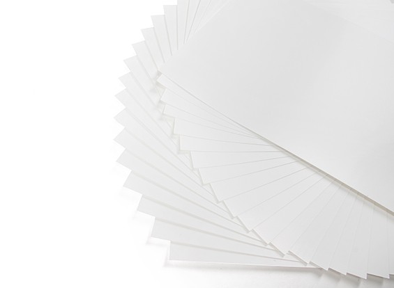 Color Laser Water Transfer Paper A4 Transparent (297 x 210mm) x 20 Sheets