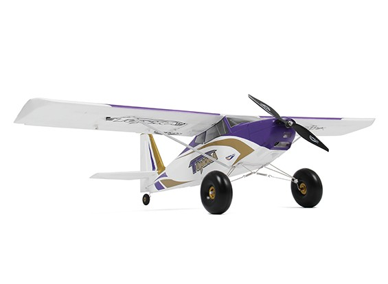 Durafly Color Tundra 1300mm Anniversary Edition (Purple/Gold) (PnF) - Front right