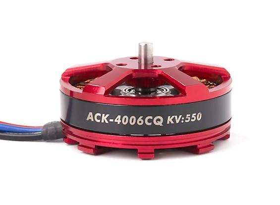 ACK-4006CQ-550KV Brushless Outrunner Motor 4~5S (CCW)