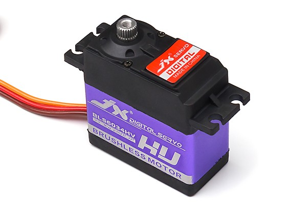 JX BLS6034HV Brushless Metal Gear High Torque Digital Servo 28.3kg/0.12sec/60g