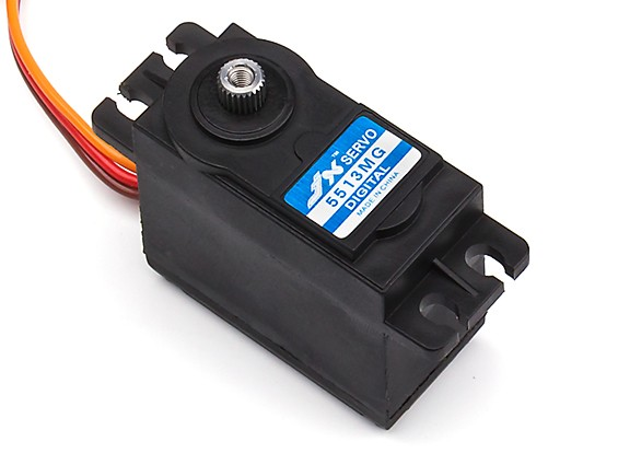 JX PDI-5513MG Coreless Metal Gear High Torque Digital Servo 13.06kg/0.18sec/55.6g