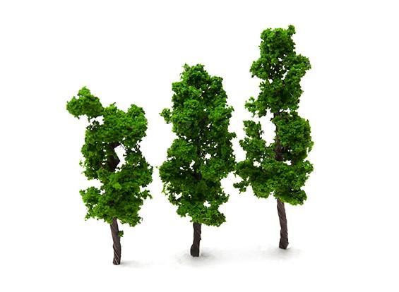HobbyKing™ 70mm Scenic Wire Model Trees  (3 pcs)