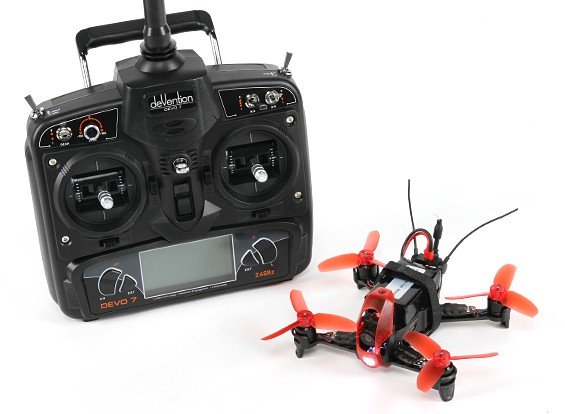 Walkera Rodeo 110  with / DEVO7 / Camera / Battery / Charger  Mode 2 (US charger) (RTF)