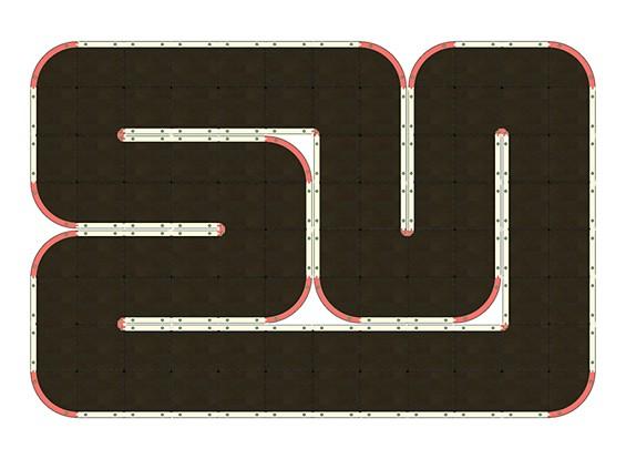 Mini-Q Indoor Car Racetrack (96 Tile)