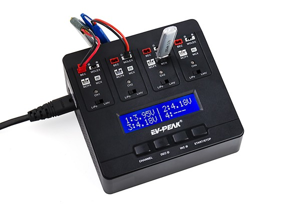 EV-Peak E6 Intelligent Charger (LiPo and LiHV Batteries)