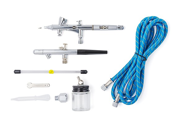 Kit Double Action Professional Airbrush