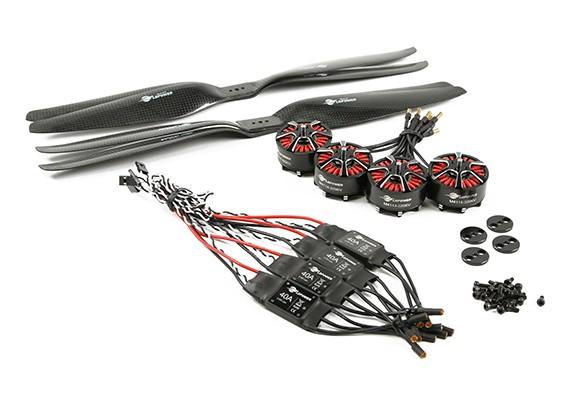 SCRATCH/DENT - LDPOWER D1200 Multicopter Power System 4114-320kv (15x5.5) (4 Pack)