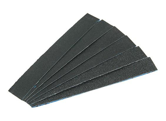 """Zona 3/4 """"Wide Assorted Sanding Strip Pack pour Finger Sander"""