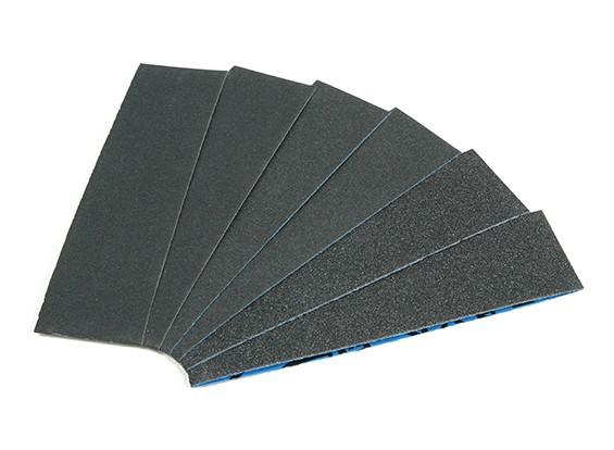 """Zona 1 1/2 """"Wide Assorted Sanding Strip Pack pour Finger Sander"""
