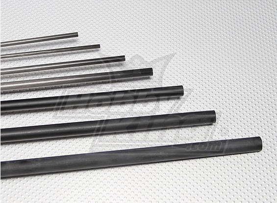 Carbon Fiber Rod (solide) 1.5x750mm