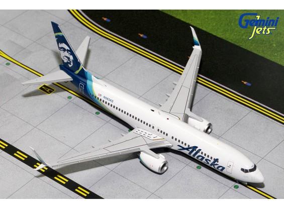 Gemini Jets Alaska Airlines Boeing B737-800S N563AS 1:200 Diecast Model G2ASA594